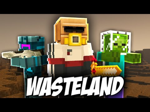 Surviving on WASTELAND PLANET in Minecraft (Hindi) |