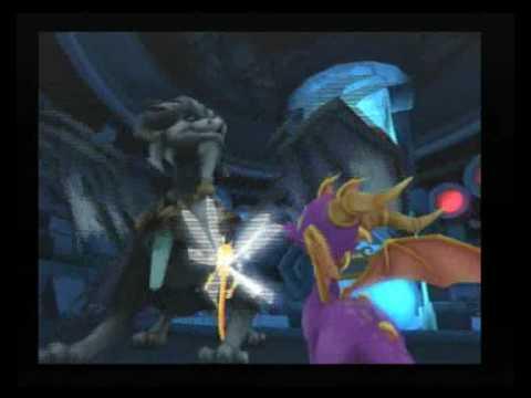 Spyro meets the Chronicler - SPYRO THE ETERNAL NIGHT.