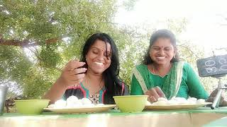 150 MINI IDLY & SAMBAR CHALLENGE COMPETITION   EATING QUEENS  