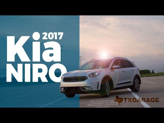 2017 Kia Niro Review - Stylish Hybrid Compact CUV