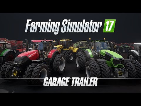 Farming Simulator 17 - Garage Trailer