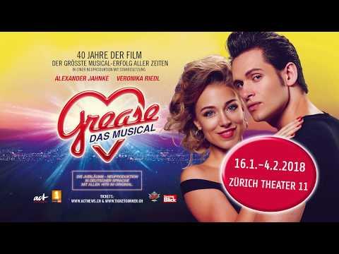 Grease - Das Musical | 16.01. - 04.02.2018, Zürich - Theater 11
