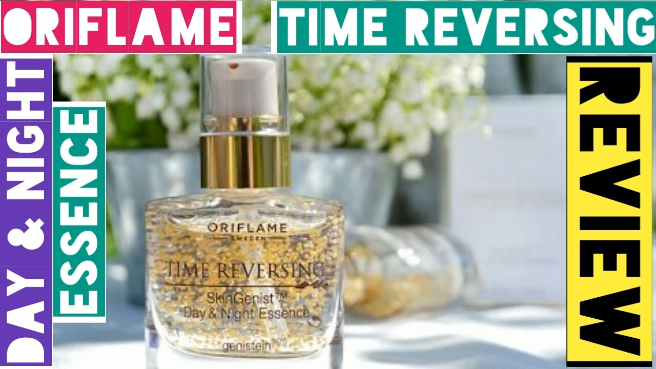 Oriflame Time Reversing Day & Night Essence Review