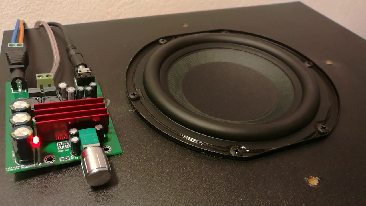Tpa3116 D2 100w Subwoofer Amplifier Under 10 Youtube Rms Circuit