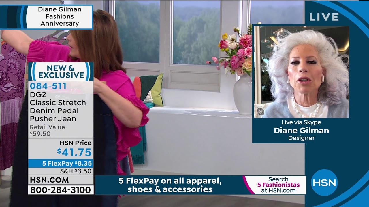 Hsn Diane Gilman Fashions Anniversary 05 09 2020 05 Pm Youtube