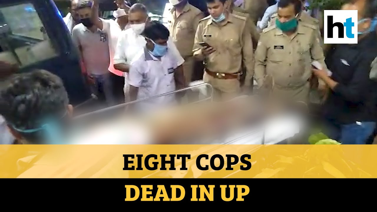 Download Eight UP cops out to nab dreaded criminal killed in firing in Kanpur