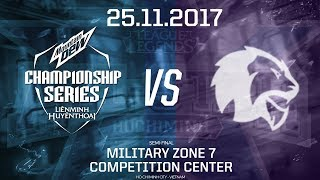 [25.11.2017] Vietnam vs Thailand [Semi-final][AllStar 2017][Game 1]