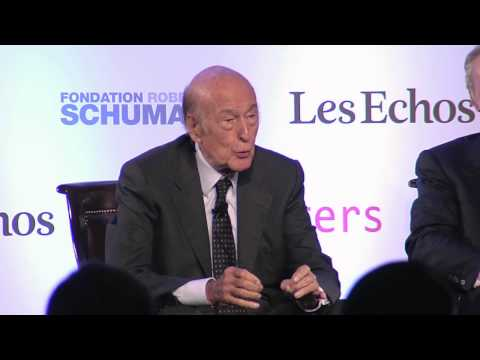 Debate with Valéry Giscard d'Estaing