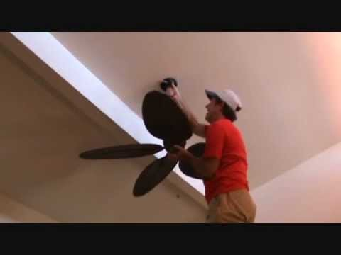 How to fix a swaying ceiling fan youtube how to fix a swaying ceiling fan aloadofball Gallery