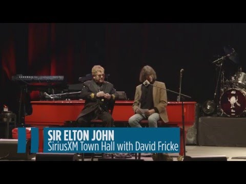 "Elton John on David Bowie: ""Irreplaceable"" //  SiriusXM"
