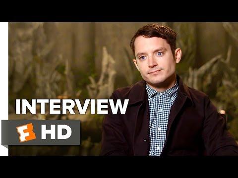 The Last Witch Hunter Interview - Elijah Wood (2015) - Vin Diesel , Rose Leslie Movie HD