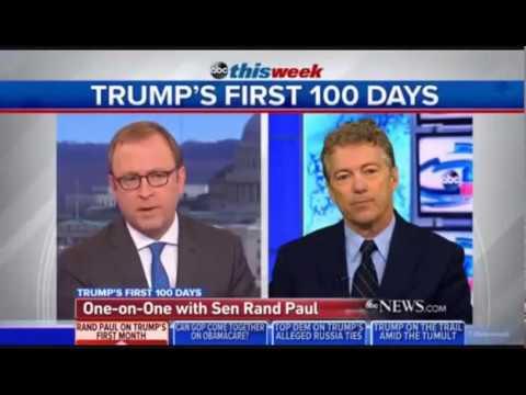 Rand Paul Slams John McCain, Defends Trump on ABC