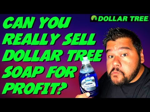 Make $150+ Hour Selling Dollar Tree Dish Soap - Dollar Tree Retail Arbitrage