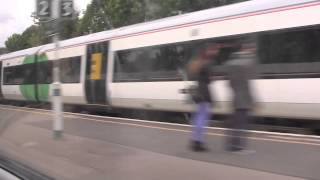 Journey on the Gatwick Express from London Victoria Station to Gatwick Airport, UK - 1st June, 2015