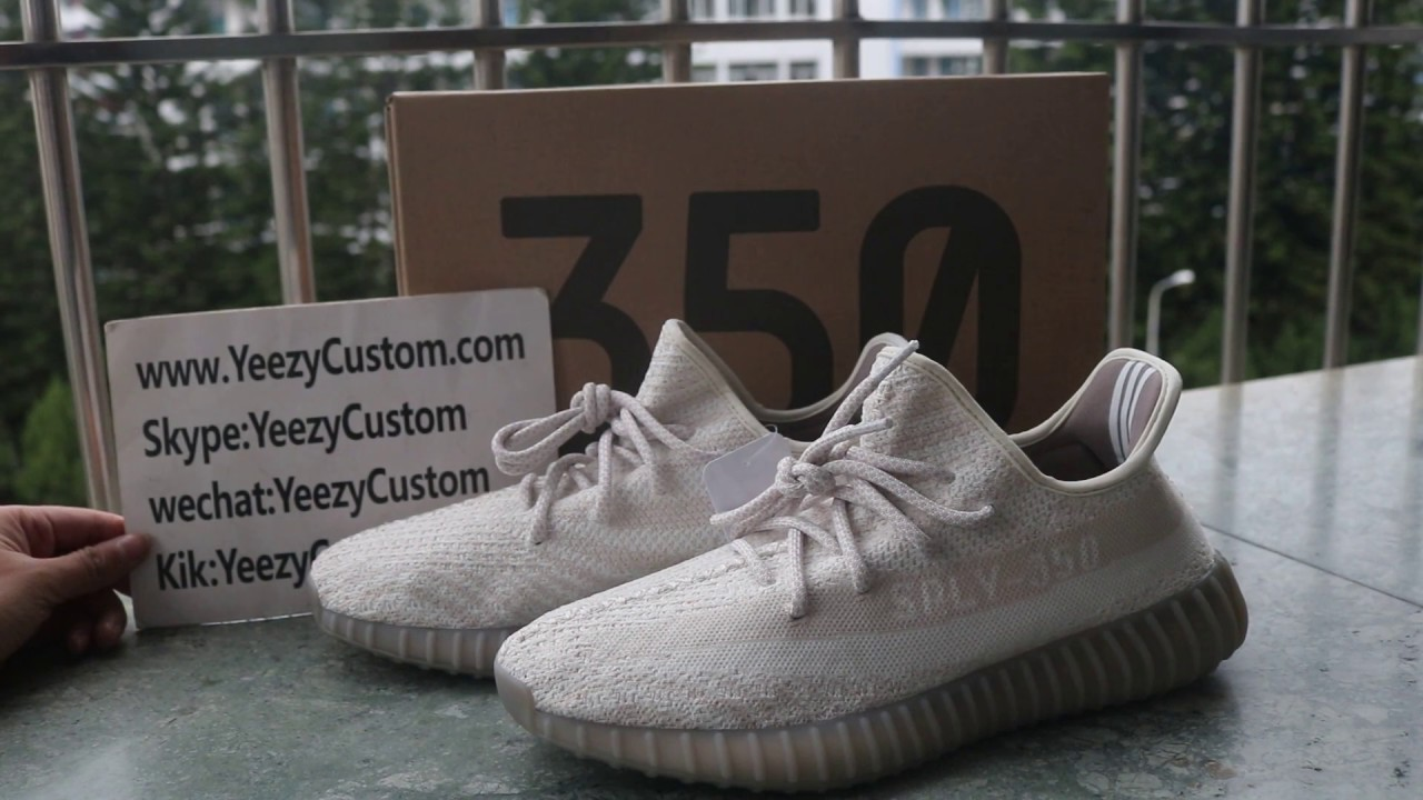 yeezy white and grey