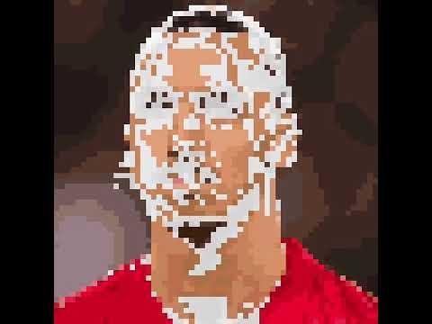 Zlatan Ibrahimovic drawing+colouring art.