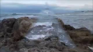 Beach of the Caspian Sea.