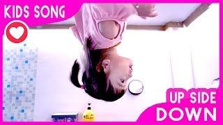 Head Shoulders Song Nursery Rhymes Kids Song | Up Side Down World