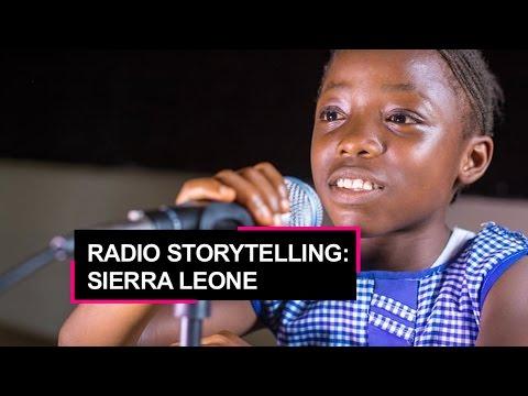 Radio storytelling in Sierra Leone: Giving children a voice