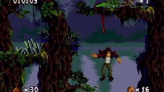 Проходим Pitfall (Sega), ч. 1