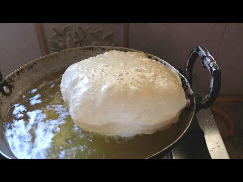 Poori Recipe | Perfect round, puffy and Soft puri Recipe | Easy and Tasty Breakfast Recipe