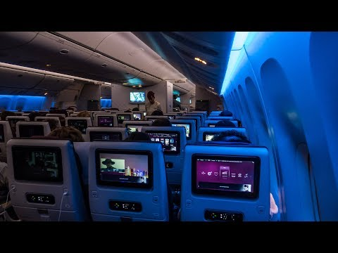 Qatar Airways Boeing 777-300ER Doha-Frankfurt Economy Class Flight Review