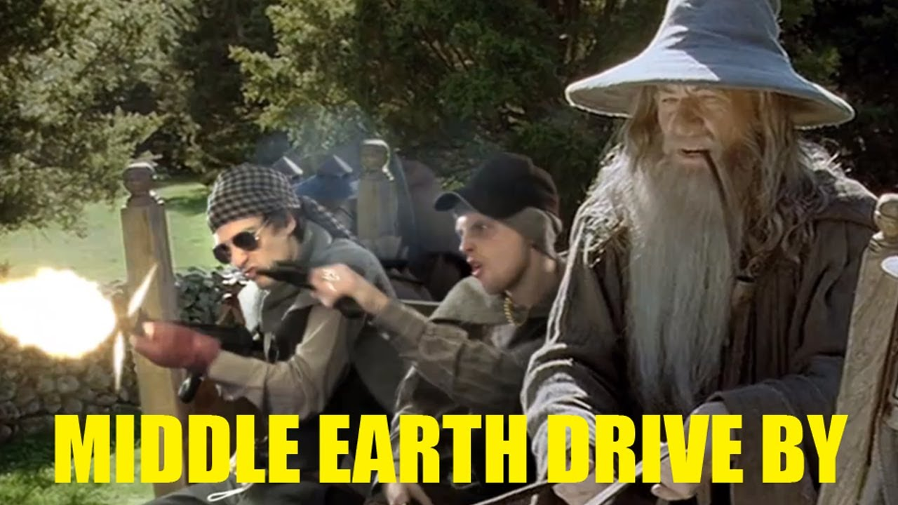 Brodo Swaggins And The Fellowship Of The Bling Boyz N the Ring! - You...