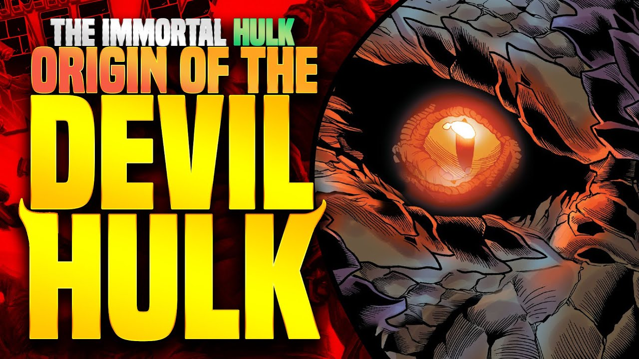How Strong Is The Devil Hulk Unleashed?   Immortal Hulk