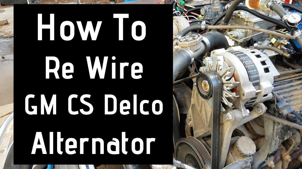 alternator wiring gm [ 1280 x 720 Pixel ]
