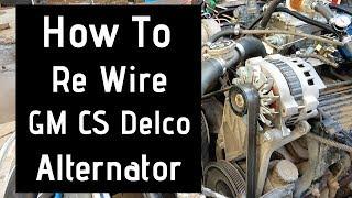 alternator wiring gm - youtube  youtube