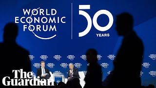 Davos: Steven Mnuchin and Christine Lagarde attend session on global economic outlook – watch live