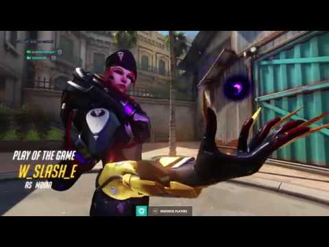 【OW】 Xim Apex Soldier 76 Gameplay | Overwatch Competitive Season 19 Mouse and Keyboard (PS4)