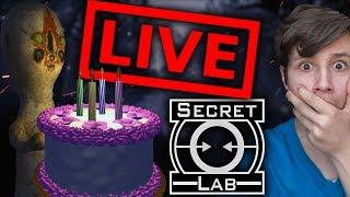 Urodzinowy Stream! SCP Secret Laboratory z Widzami! [1/3] - Na żywo