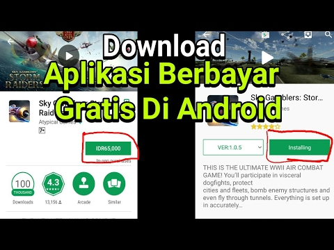 Cara Download Aplikasi Berbayar Jadi Gratis 2019 Youtube