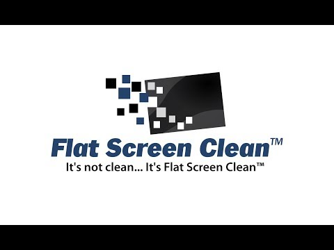 Flat Screen Clean™ Demo on a smart TV #FlatScreenCleaner #ScreenCleaner #AmazonLive