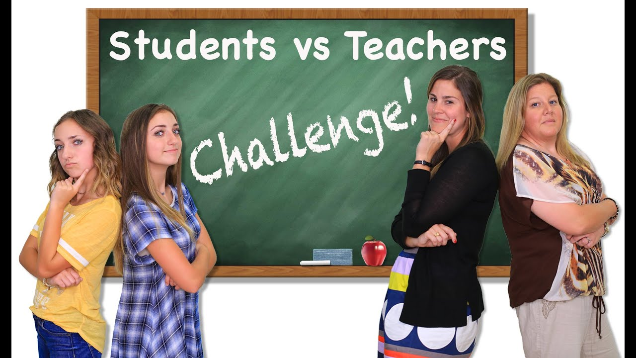 Students Vs Teachers Challenge  Brooklyn And Bailey - Youtube-3119