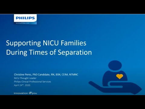 Supporting NICU Families During Times of Separation