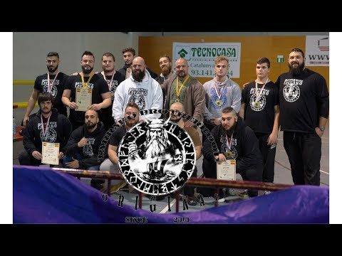 TARRAKO BROTHERHOOD ORIGINAL .. BCN 2018 Powerlifting