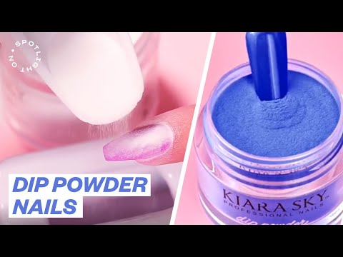 How To DIP POWDER NAILS - The ULTIMATE Manicure Technique | Spotlight On KIARA SKY NAILS