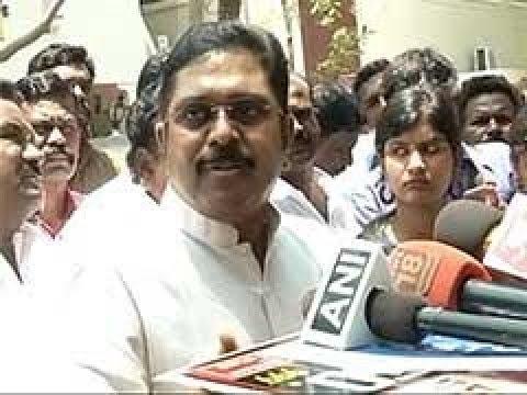 """TTV Dinakaran's angry press Meet   """"Except God no one can threaten me"""" - TTV Dhinakaran"""