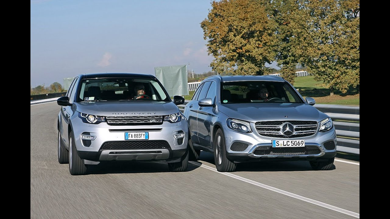 2016 Land Rover Discovery Sport Vs 2016 Mercedes Benz Glc