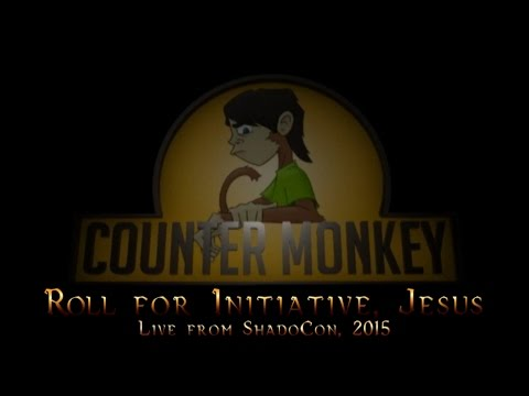 Counter Monkey  - Roll for initiative, Jesus!
