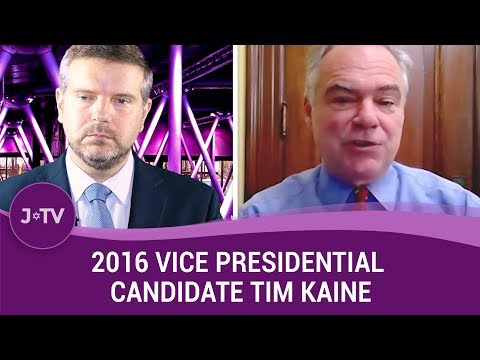 2016 Vice Presidential Candidate Tim Kaine on the Iran Deal, Trump & Radical Islam