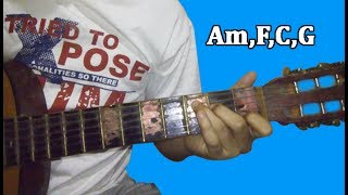 Tutorial Kunci Gitar Mudah-DESPACITO-Luis Fonsi ft  Daddy Yankee