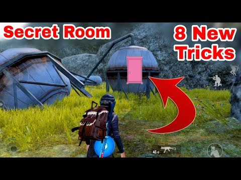 PUBG Mobile Top 8 New Tips  and Tricks Hindi ! PUBG Mobile New Secret Room
