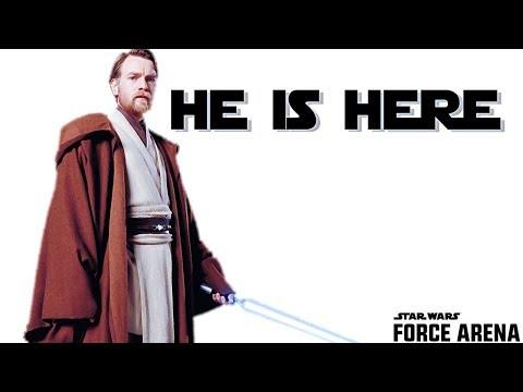 UPDATE is LIVE! Star Wars: Force Arena - We got clone wars Obi-Wan Kenobi!