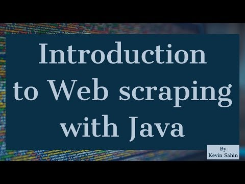 Introduction to Web Scraping with Java | Java Tutorial | Web