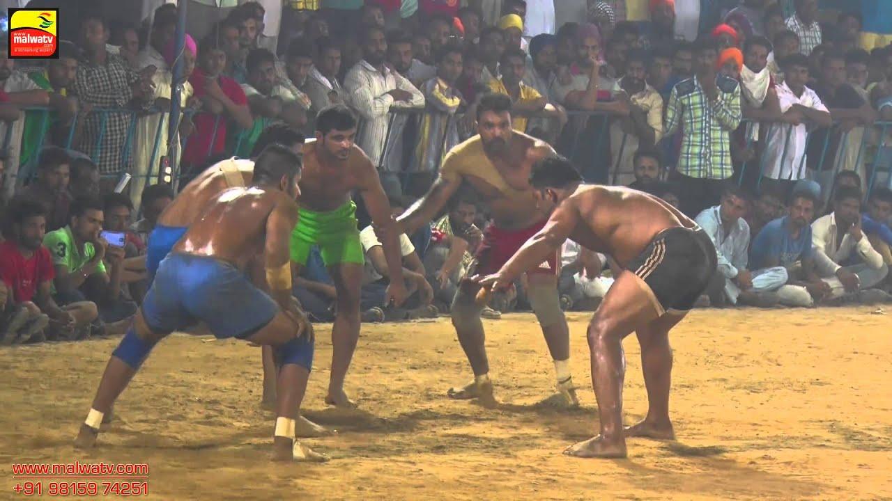 KARHALI SAHIB (Patiala) || KABADDI CUP - 2015 || OPEN SEMI - FINALS || Full HD ||