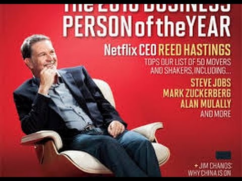 Reed Hastings Cartoon Story of Netflix