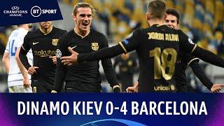 Dinamo Kiev v Barcelona (0-4) | Champions League Highlights